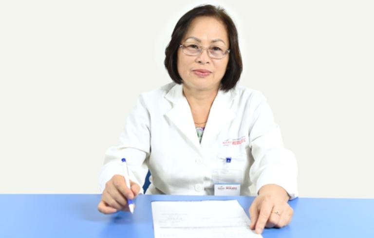 Bác sĩ Thủy có nhiều năm kinh nghiệm trong nghề