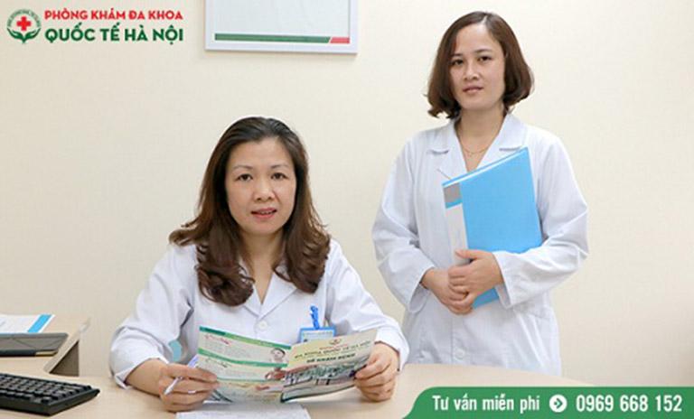 BS Hồng Duyên có trình độ và kinh nghiệm chuyên sâu về sản phụ khoa, vô sinh - hiếm muộn