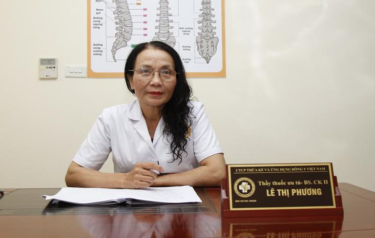 Bác sĩ chữa viêm xoang giỏi, thầy thuốc ưu tú Lê Phương
