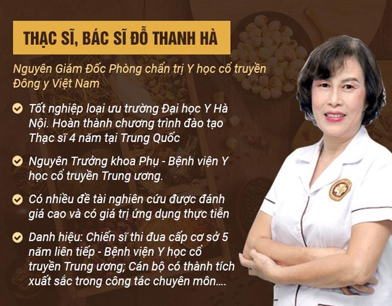 Bác sĩ Đỗ Thanh Hà là chuyên gia hàng đầu trong lĩnh vực sản phụ khoa