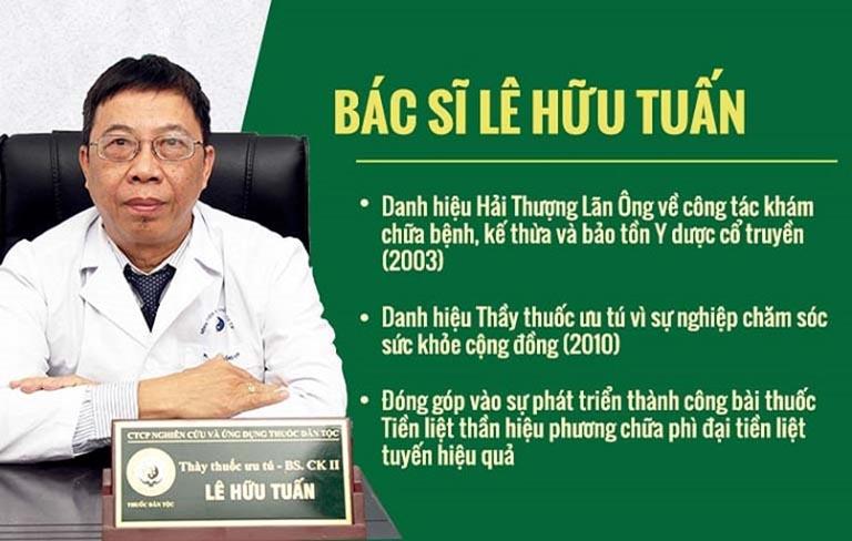 Chân dung BS Lê Hữu Tuấn