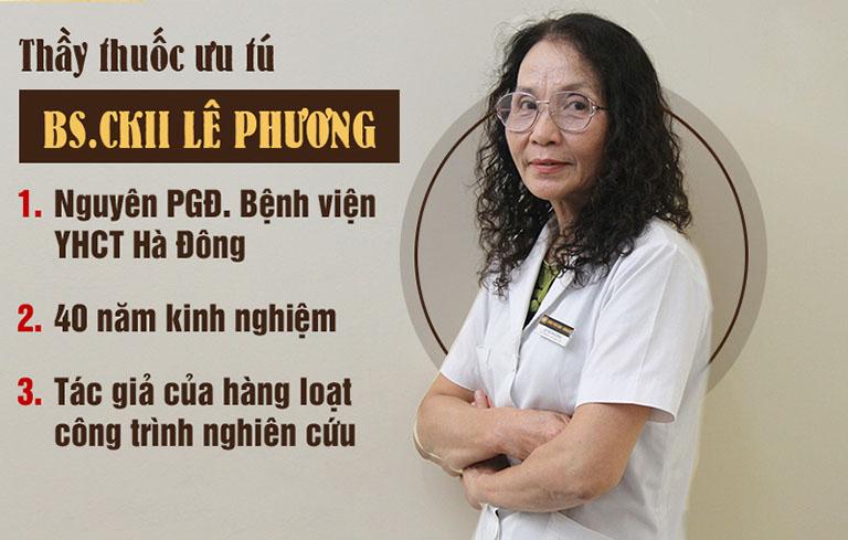 Thầy thuốc ưu tú Lê Phương có chuyên môn cao, chữa viêm xoang mũi hiệu quả