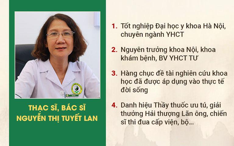 Bác sĩ Tuyết Lan - Bàn tay vàng chữa trào ngược dạ dày tại Thuốc dân tộc