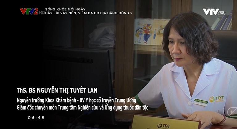 Thạc sĩ - Bác sĩ Nguyễn Thị Tuyết Lan - Nguyên trưởng khoa khám bệnh bệnh viện YHCT Trung ương.