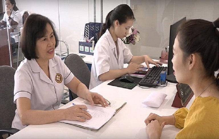 Bệnh nhân mang thai sau khi điều trị đều rất biết ơn bác sĩ Thanh Hà