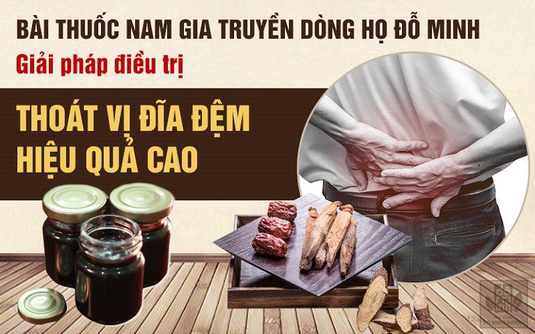 Bài thuốc gia truyền chữa thoát vị đĩa đệm hiệu quả của Đỗ Minh Đường