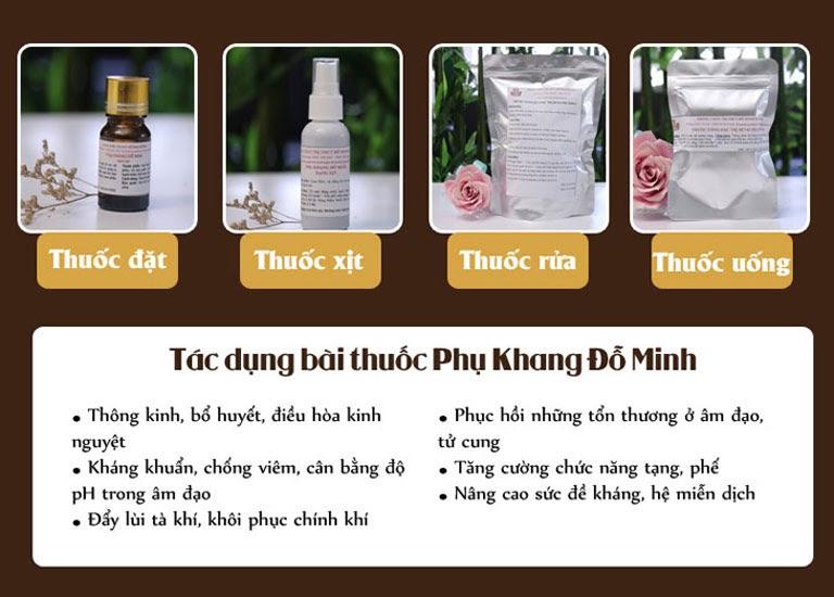 Cơ chế chữa bệnh chuyên sâu của bài thuốc thảo dược Phụ Khang Đỗ Minh