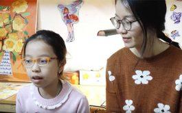 Bé Tùng Chi và mẹ chia sẻ hành trình chữa bệnh