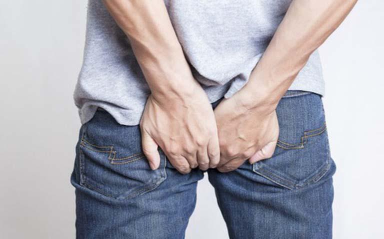 Búi trĩ sưng to gây đau nhức khó chịu cho người bệnh