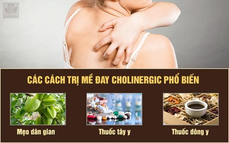 Các phương pháp chữa mề đay cholinergic hiện nay