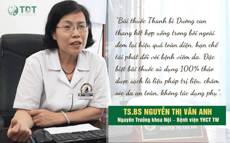 đánh giá về bài thuốc chữa viêm da cơ địa của trung tâm thuốc dân tộc