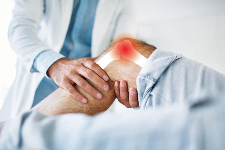 Viêm bao hoạt dịch khớp gối gây đau nhức ở đầu gối