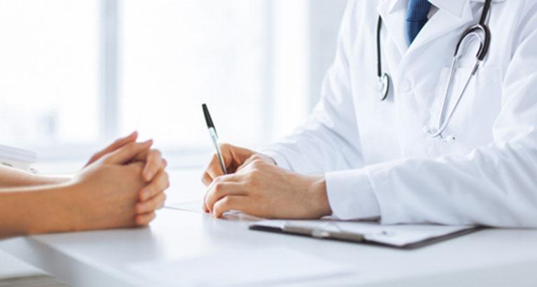Người bệnh nên đến gặp bác sĩ tiến hành thăm khám để được tư vấn phương pháp điều trị phù hợp