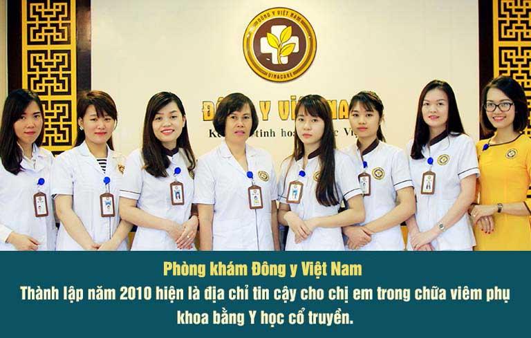 Phòng khám Đông y Việt Nam - nơi trao gửi niềm tin của bệnh nhân Phụ khoa