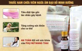 Tác dụng bài thuốc Đỗ Minh Đường chữa viêm ngứa âm đạo