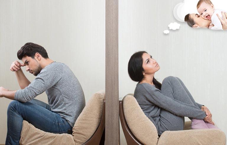 Hiếm muộn ảnh hưởng rất lớn đến tâm lý của người phụ nữ