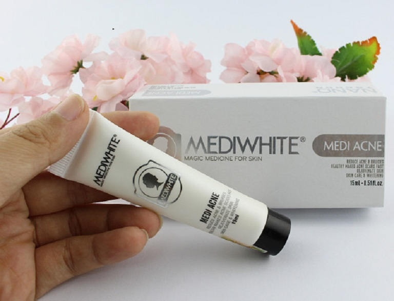 Kem Medi Whet giúp giảm viêm sưng mụn nhanh chóng