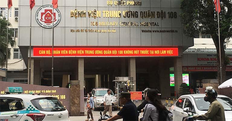 Bệnh viện Trung ương Quân đội 108 - Quận Hai Bà Trưng, Hà Nội
