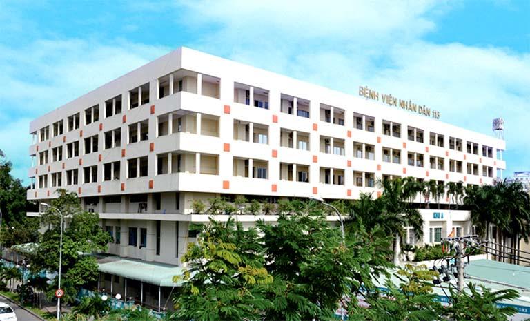 Bệnh viện Nhân dân 115 - Quận 10, Thành phố Hồ Chí Minh