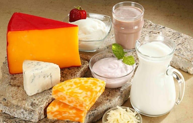 Bệnh nhân nên kiêng sữa và sản phẩm từ sữa