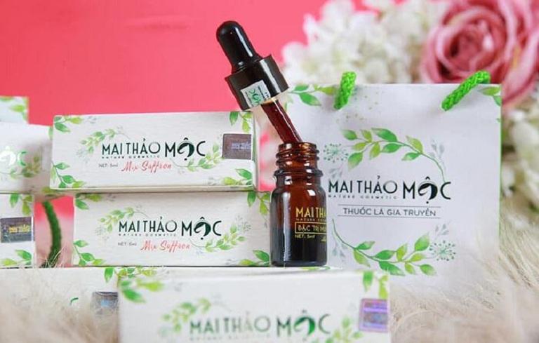 Mai Thảo Mộc là serum trị mụn chiết xuất từ nhiều thảo dược tự nhiên
