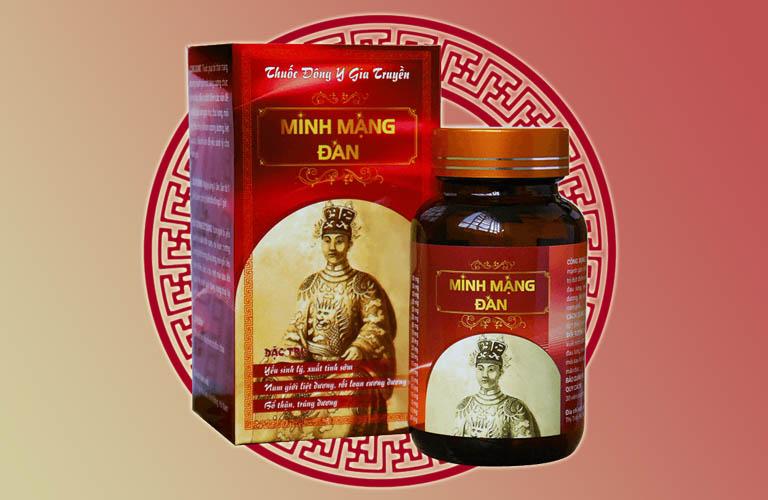Thành phần của viên uống Minh Mạng Đan