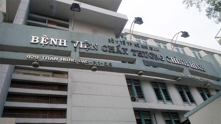 Bệnh viện Chấn thương chỉnh hình Thành phố Hồ Chí Minh là địa chỉ hội tụ đội ngũ chuyên gia, bác sĩ nhiều năm kinh nghiệm trong lĩnh vực Cơ - Xương - Khớp