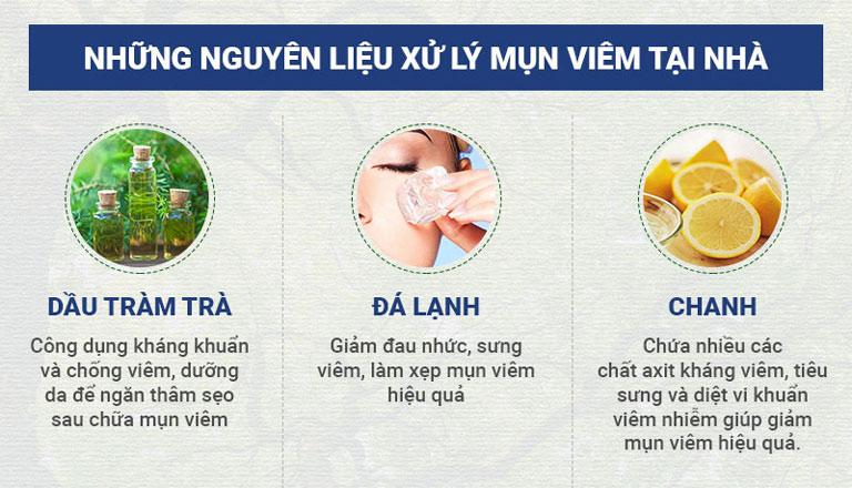Một số phương pháp loại bỏ mụn viêm tại nhà