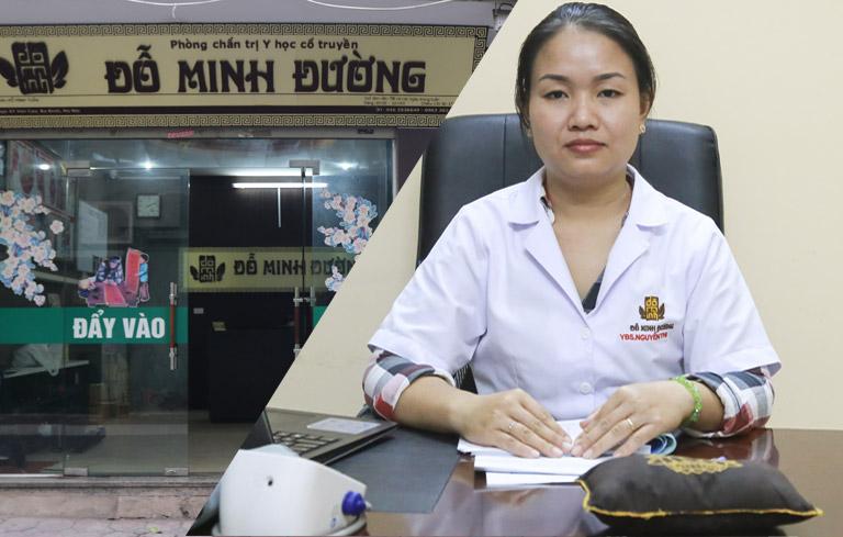 BS Đoan Trinh khám và chữa bệnh phụ khoa tại nhà thuốc Đỗ Minh Đường cơ sở miền Nam