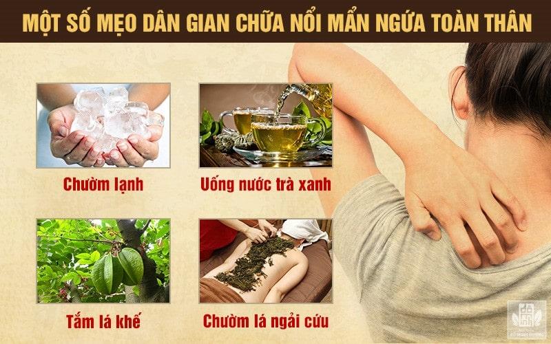 Cách chữa ngứa toàn thân từ thảo dược quanh nhà đơn giản
