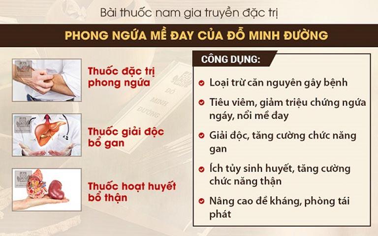 Bài thuốc chữa phong ngứa Đỗ Minh