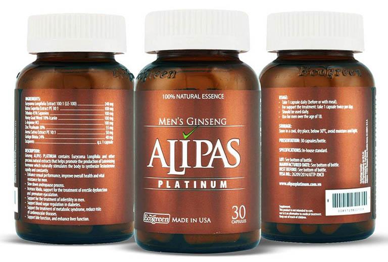 Công dụng của Sâm Alipas Platinum