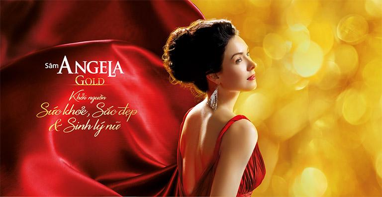 Sâm Angela Gold giúp các phái nữ tìm lại sức khỏe, nhan sắc và chức năng sinh lý