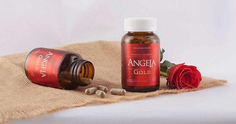 Sản phẩm Sâm Angela Gold được chỉ định sử dụng cho nữ giới 18 tuổi