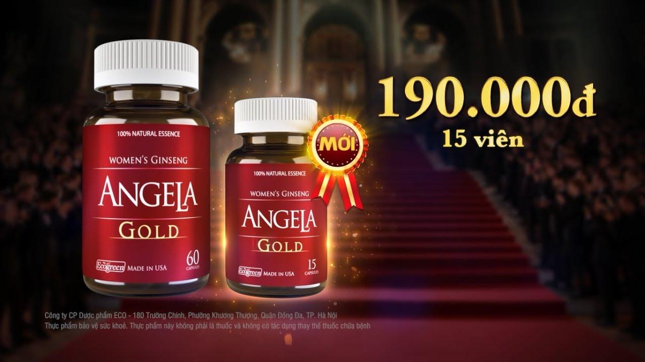 Thị trường hiện nay đã xuất hiện sản phẩm Sâm Angela Gold phiên bản 15 viên nang với giá 190.000 đồng