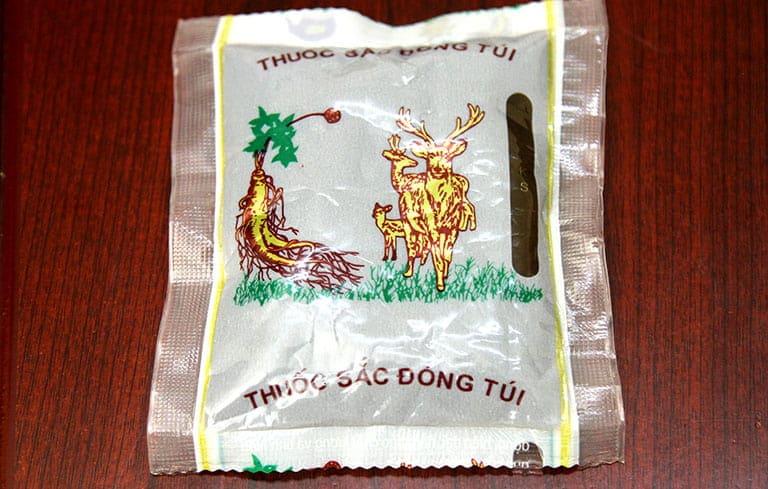 Thuốc đóng gói của Trung tâm Đông y Việt Nam