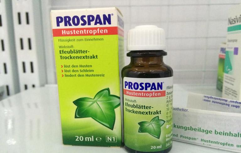 Siro Prospan được nhiều mẹ lựa chọn để chữa sổ mũi, ho cho con