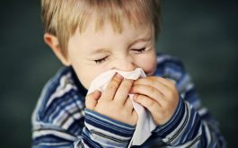 Sổ mũi ở trẻ em