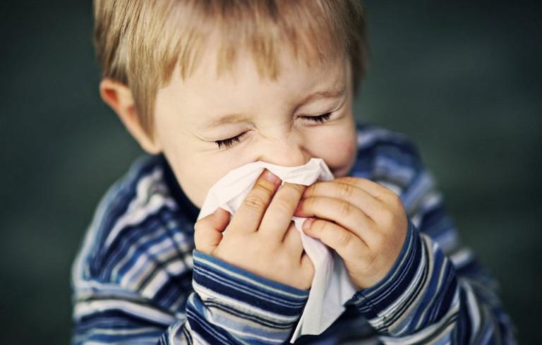 Hiện tượng sổ mũi ở trẻ em khá phổ biến