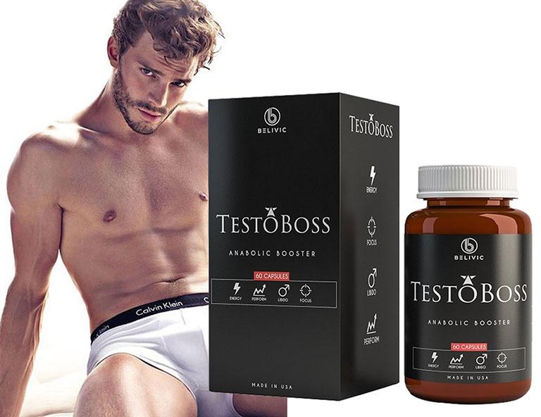 Sản phẩm Testoboss giúp các nam giới tìm lại bản lĩnh của chính mình trong chốn phòng the