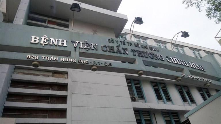 Bệnh viện Chấn thương chỉnh hình - Quận 5, Thành phố Hồ Chí Minh