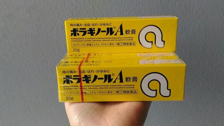 Thuốc bôi trĩ chữ A của Nhật Bản và sản phẩm của công ty Kokando nghiên cứu và đưa ra công thức