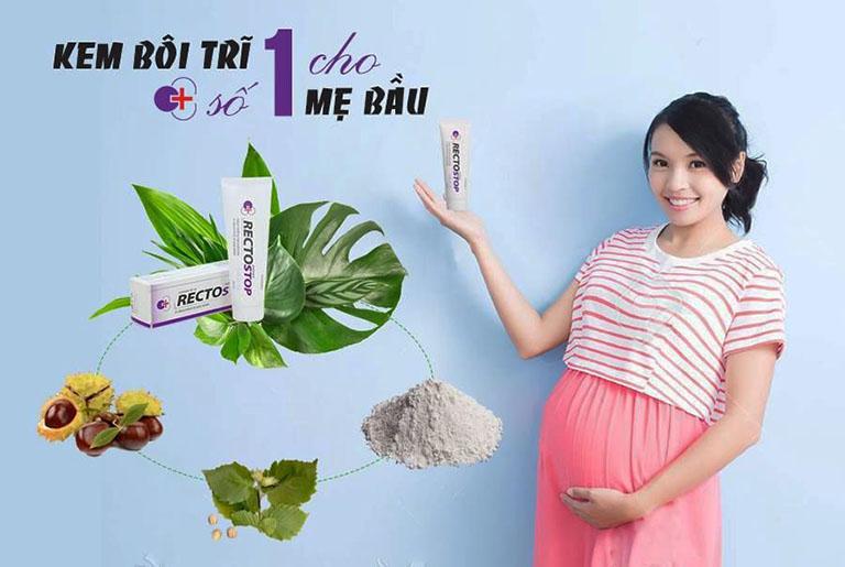 Với chiết xuất 100% từ các thảo dược có sẵn trong tự nhiên, sản phẩm Rectostop rất thích hợp khi sử dụng cho các mẹ bầu