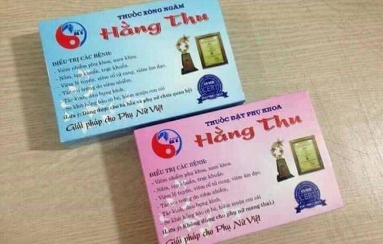 Sản phẩm Đông y chữa bệnh viêm cổ tử cung
