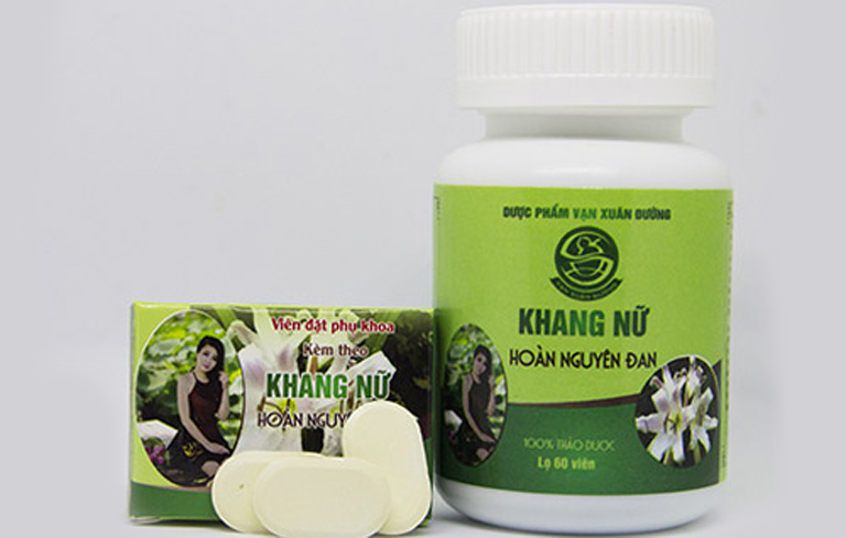 Thuốc được sử dụng cho các chị em phụ nữ mắc bệnh liên quan đến tử cung, buồng trứng và âm đạo