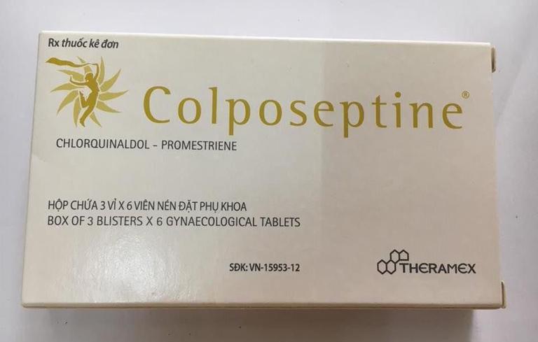 Thuốc đặt viêm lộ tuyến CTC Colposeptine hiệu quả cho chị em