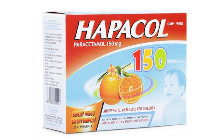 Thuốc Hapacol dùng cho trẻ nhỏ