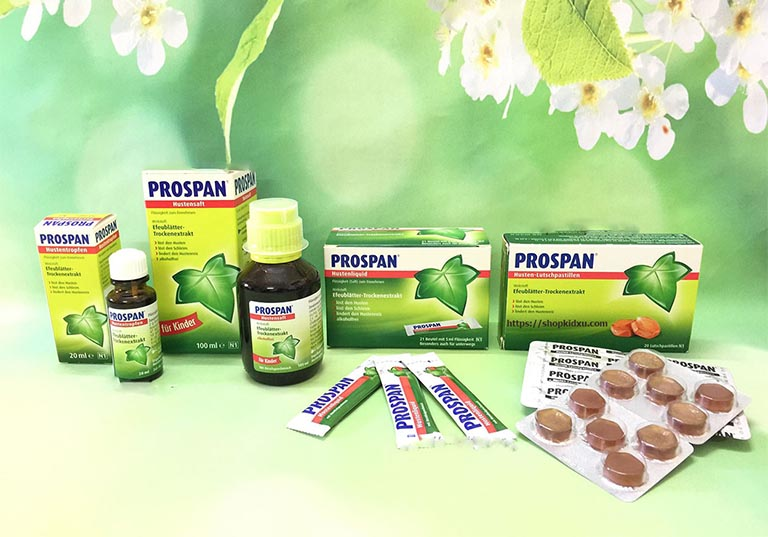 Những sản phẩm thuốc ho Prospan trên thị trường hiện nay