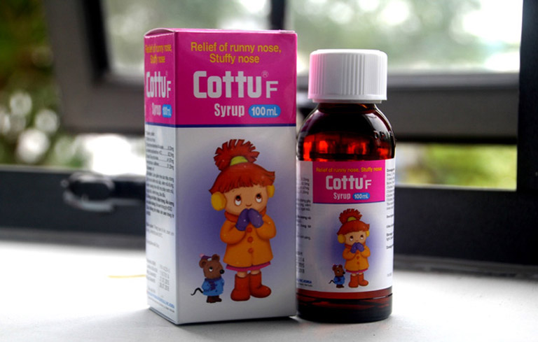 Thuốc sổ mũi Cottuf dành cho đối tượng trẻ em
