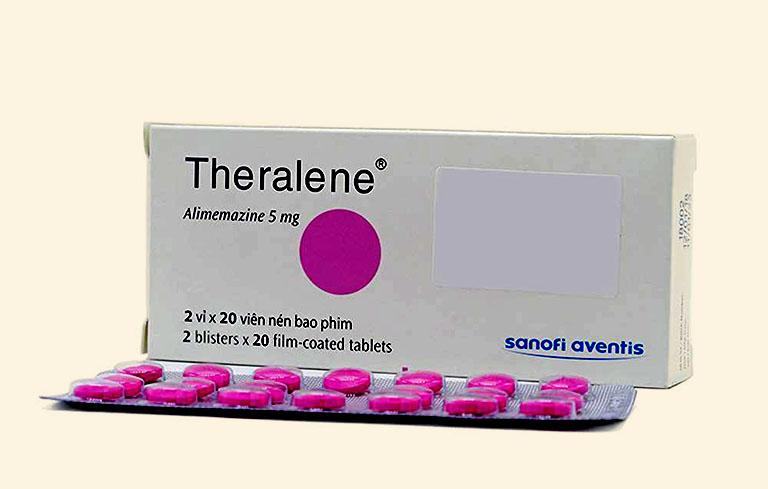 Thuốc Theralene trị sổ mũi cho trẻ em và người lớn